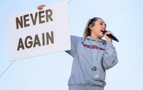 Celebrities Show Their Support at The March For Our Lives