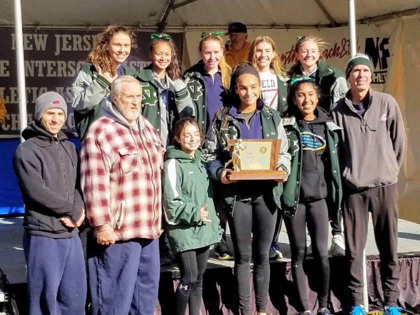 2018 Group 3 XC Girls Champions