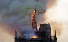 Fire at Notre Dame Cathedral