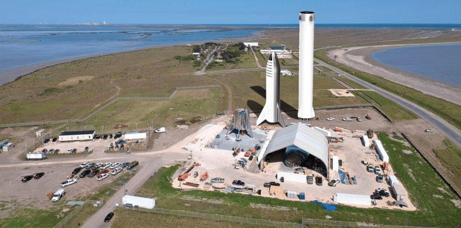 SpaceX lands Mars Starship Rocket Prototype